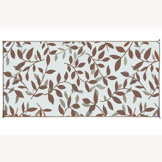 Large Reversible Leaf Design Patio Mats   8u0027 X 16u0027