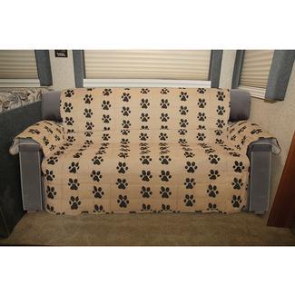 Paw Print Furniture Protector, Sofa, Seat Width  6.