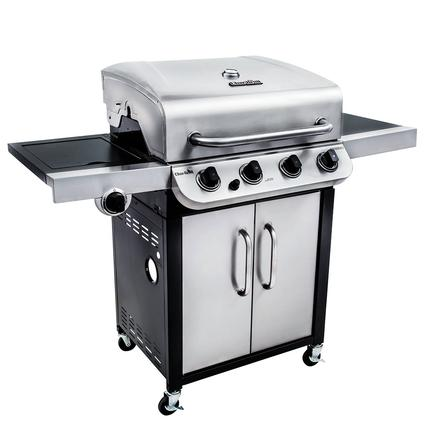 Char-Broil Performance 4 Burner Cabinet Gas Grill, 36,000 BTU