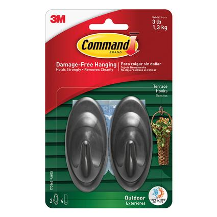 Command Outdoor Hooks