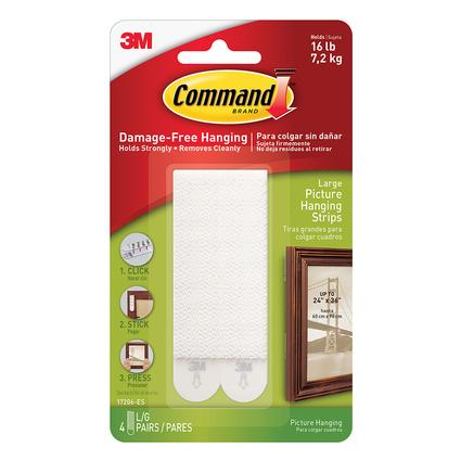 Command Picture Hanging Strips, 4-pack
