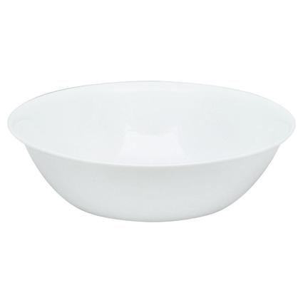 Corelle Livingware 1-Quart Serving Bowl, Winter Frost White