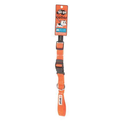 Pet Stuff Pet Collar - Medium, Orange
