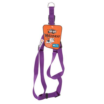 Pet Harness - Medium, Purple