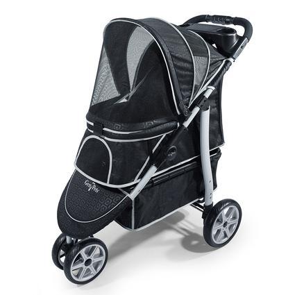 Monaco Pet Stroller, Black