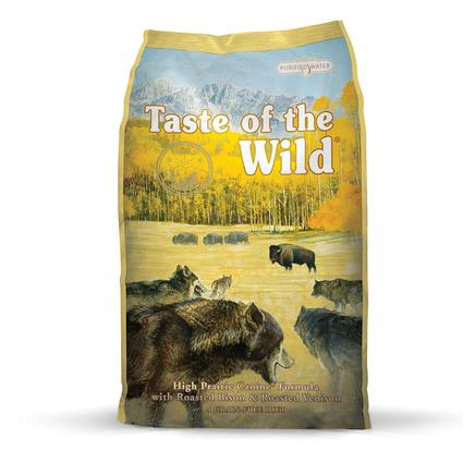 Taste of the Wild High Prairie Canine Formula with Roasted Bison Roasted Venison, 30 lb. Bag