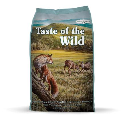 Taste of the Wild Appalachian Valley Small Breed Venison Garbanzo Beans Dry Dog Food, 5 lb. Bag