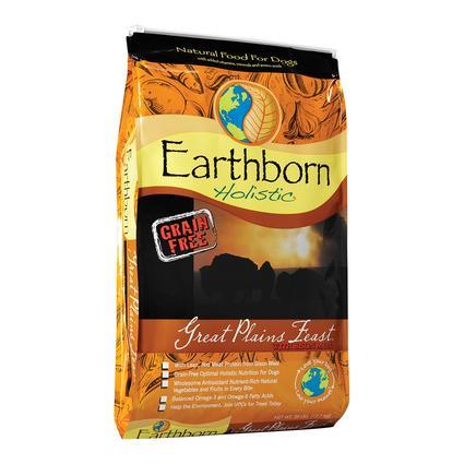 Earthborn Holistic Great Plains Feast Grain-Free Dry Dog Food, 28 lb. Bag