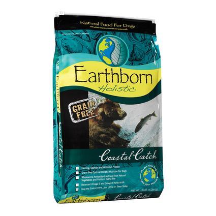 Earthborn Holistic Grain Free Coastal Catch Dog Food, 14 lb. Bag