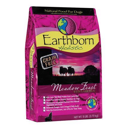 Earthborn Holistic Grain Free Meadow Feast Dog Food, 5 lb. Bag