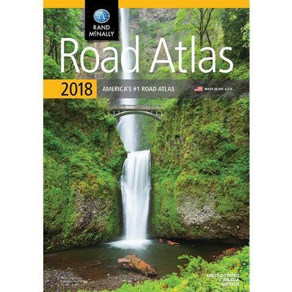 Rand McNally 2018 Road Atlas