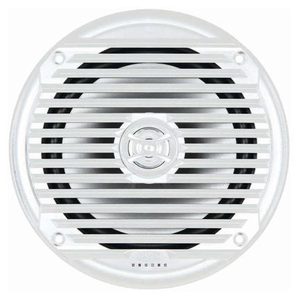 6.5 Coaxial Waterproof Marine Speakers, White
