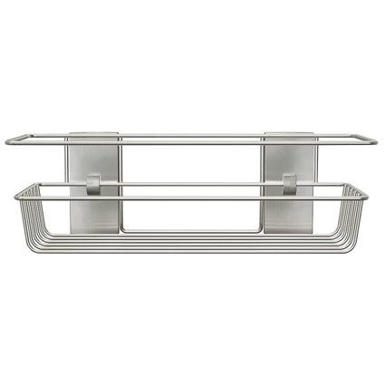 Command Bath Shower Caddy, Satin Nickel