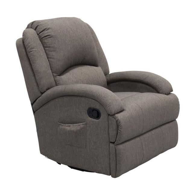 Image Thomas Payne Collection Heritage Series Swivel Glider Recliner, Dunes  Gray. To Enlarge The .