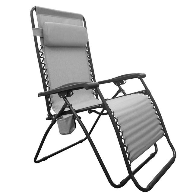 Image Infinity Big Boy Zero Gravity Chair, Gray. To Enlarge The Image,  Click .