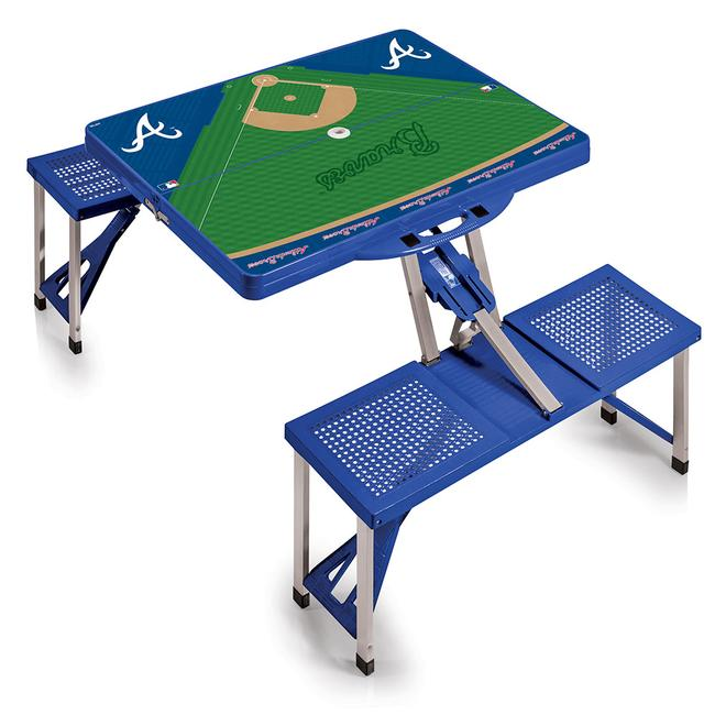 Atlanta Braves Portable Picnic Table Picnic Time - Picnic table atlanta