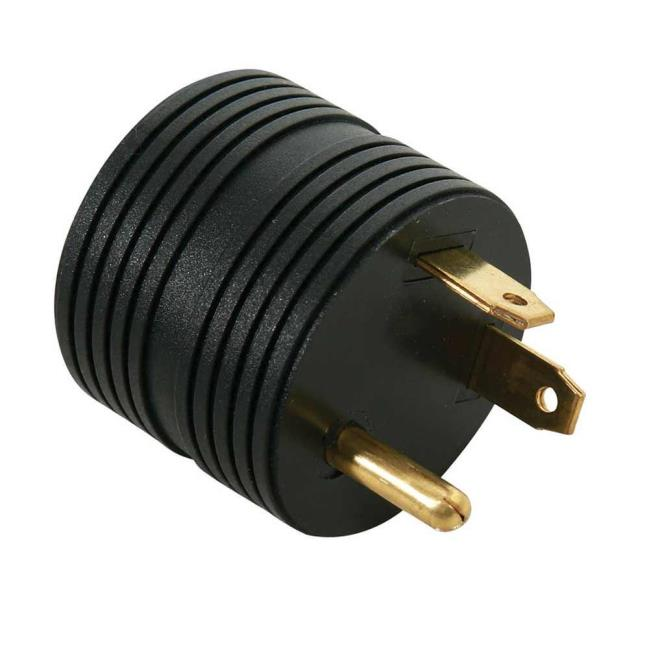 30 Amp Male to 15 Amp Female Round Adapter - Direcsource Ltd 100893 ...