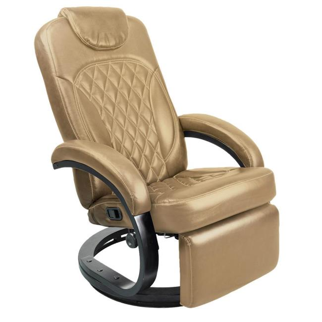 Image Thomas Payne Collection Euro Recliner Chair, Standard Euro, Oxford  Tan. To Enlarge .
