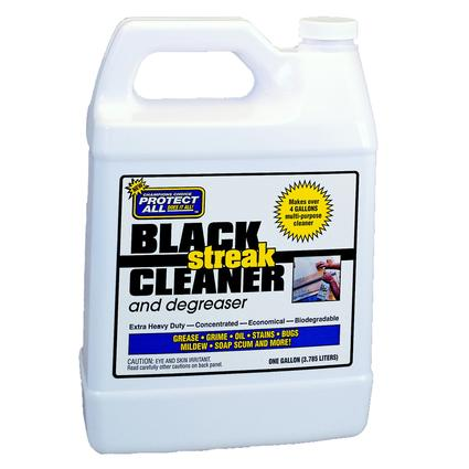 Protect All Black Streak Cleaner and Degreaser, Gallon