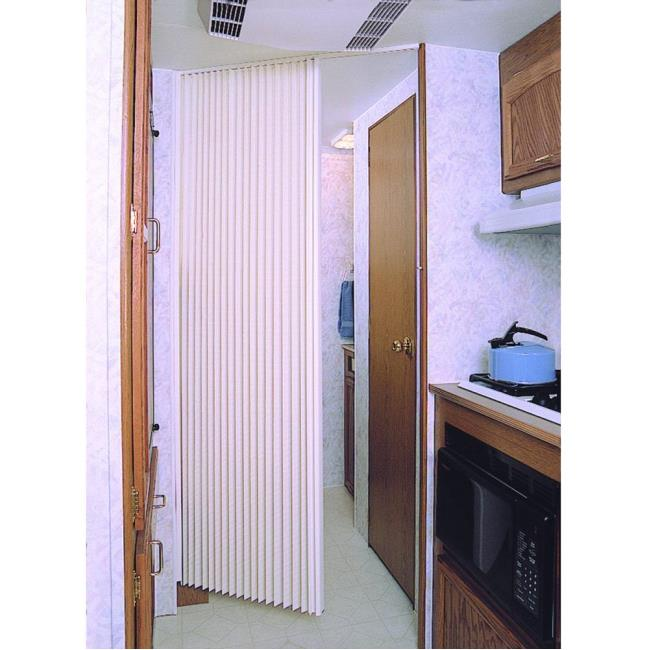 Image United Shade Pleated Folding Door. To Enlarge the image click or press Enter .  sc 1 st  C&ing World & United Shade Pleated Folding Door - United Shade - RV Replacement ...