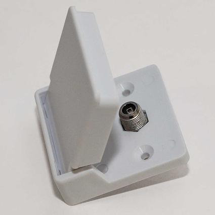 Exterior Cable TV Receptacle
