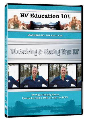 RV Education 101, DVD - Winterizing Storing