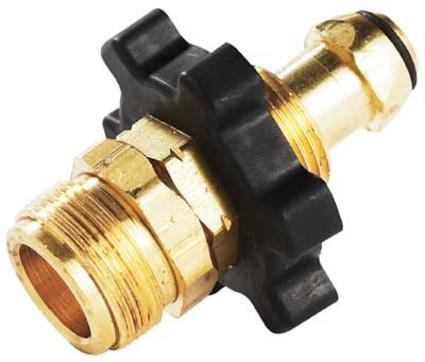 Propane Bulk Cylinder Adapter with Handwheel