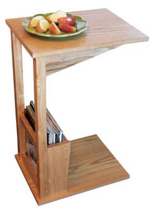 Sofa Server Table - Oak