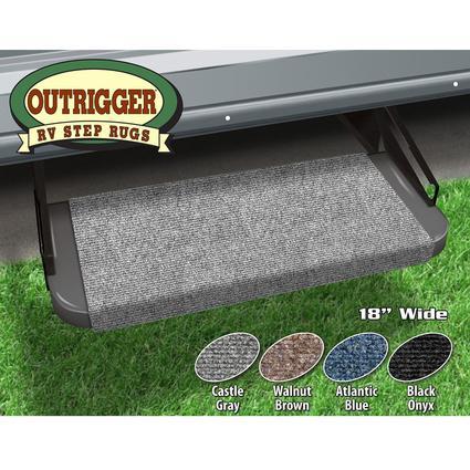 Outrigger RV Step Rug - Castle Gray, 18