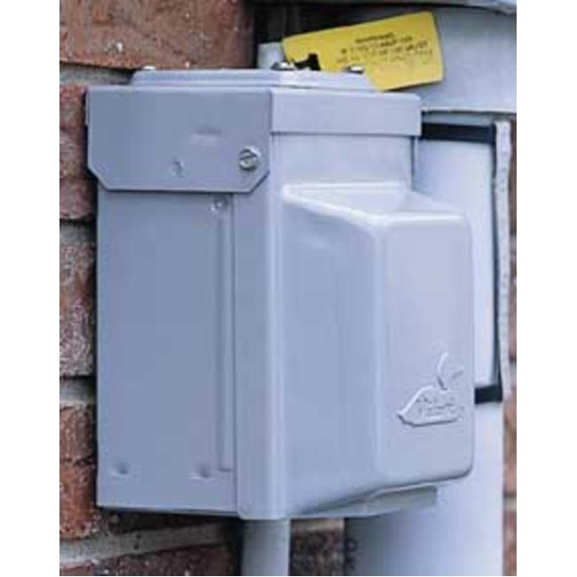 240V Electrical Power Outlet Box, 50 Amp - Midwest Electric U054P ...