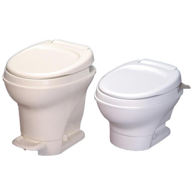 Aqua-Magic V Toilet Low Profile Hand Flush - Parchment - Thetford ...