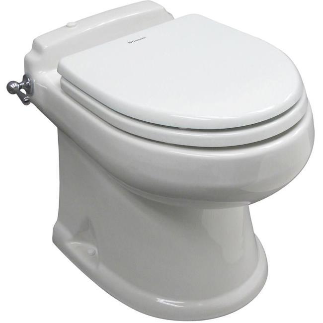 SeaLand Concerto All-Ceramic Toilet - White - Dometic 302431113 - RV ...