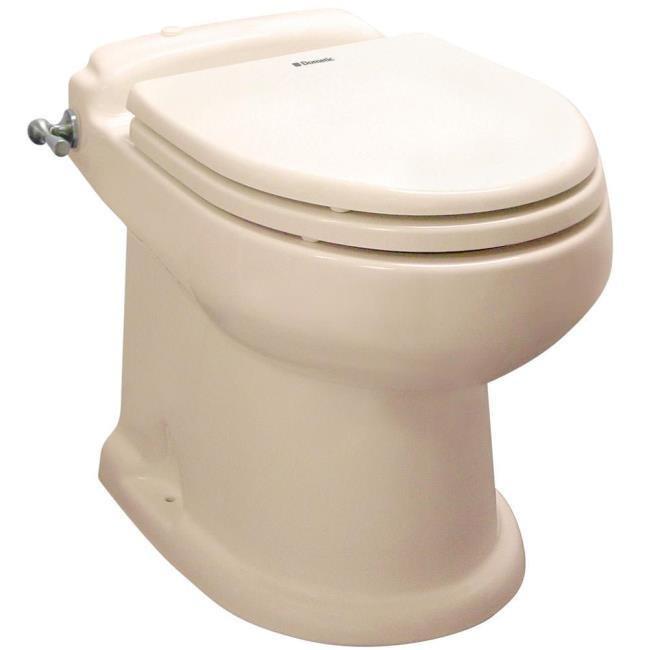 SeaLand Concerto All-Ceramic Toilet - Bone - Dometic 302431133 - RV ...