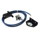 7 to 4 Wire Straight Power Cord Kit with Plugs, Socket and Socket Bracket