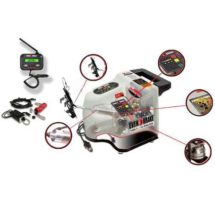 Even Brake Towed Car Braking System