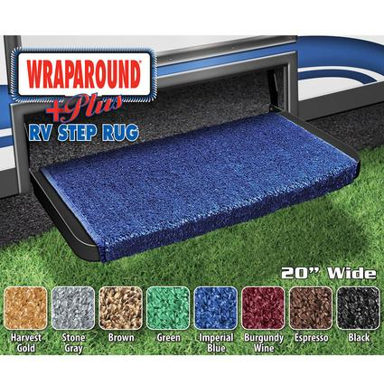 Wrap Around Plus RV Step Rug - Imperial Blue, 20
