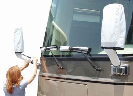 ADCO Tyvek RV Mirror & Wiper Blade Cover Set