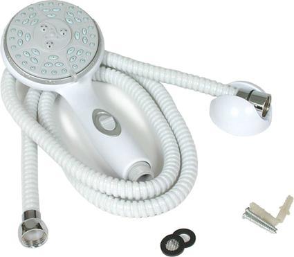 RV/Marine Showerhead Kit - White