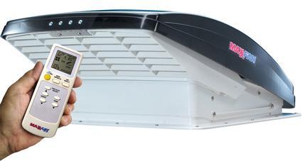 MaxxFan Remote Control RV Ventilator Systems