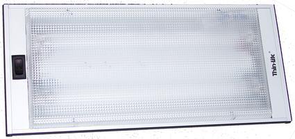 Thin Lite Recessed Fluorescent Light Fixture #712XL
