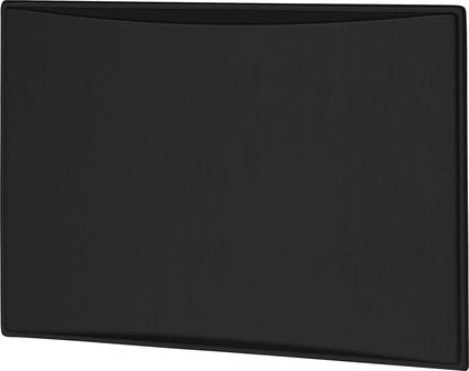 New Generation 7.0CF Refrigerator Door Panels, Contoured - Brushed Black Stainless