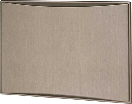 New Generation 9.0CF Refrigerator Door Panels, Contoured - Brushed Roman Bronze