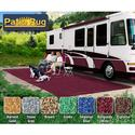 Prest-O-Fit Patio Rug 8' x 20' - Burgundy Wine
