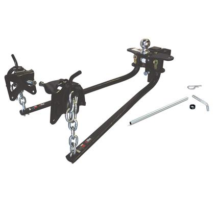 Round Bar Weight Distributing Hitch - 600 lb Tongue Weight