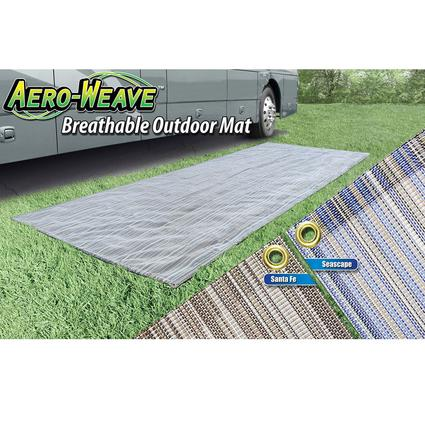 Aero-Weave Breathable Outdoor Mat - SeaScape, 7.5' x 20'