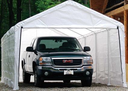 12' x 26' Canopy Enclosure Kit, White