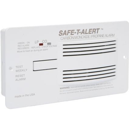 Safe-T-Alert Carbon Monoxide/Propane Alarm - White