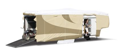 ADCO 5th Wheel Designer Tyvek RV Cover - 31'1