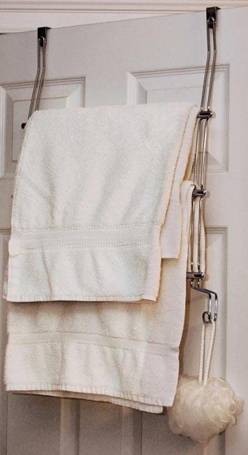 towel rack. Delighful Rack Image Over Door 3 Bar Towel Rack  Chrome To Enlarge The Image Click  For H