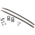 Dual Tire Inflators - Hub Mount Stainless Steel - 2 Hose Kit for 16-19.5 Wheels